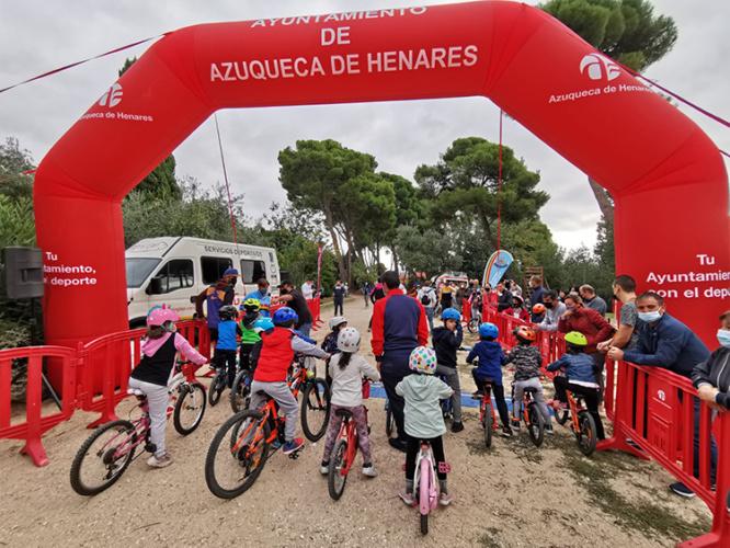 Salida de una de las carreras. Fotografía: Ayuntamiento de Azuqueca